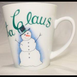 Cocoa for Santa Claus Christmas  mug pier 1